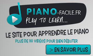 Cours piano debutant